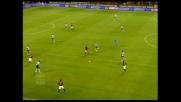 Shevchenko di potenza piazza la palla all'incrocio: è il 2-0 sul Siena