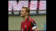 Shevchenko fermato dalla traversa contro il Livorno