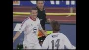 Shevchenko timbra il goal del pari per il Milan al Castellani