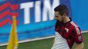 Destro segna all'Empoli il suo primo goal in rossonero