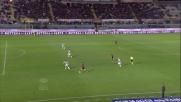 Siligardi contro l'Udinese chiude troppo il sinistro e il pallone scorre sul fondo