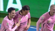 Silvestre schiaccia la palla in rete di testa per il terzo goal alla Lazio