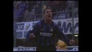 Simeone, goal in tuffo sul cross di West