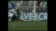 Simone Inzaghi sblocca il match contro la Sampdoria con un goal in rovesciata