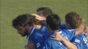 Sinistro angolato, Diamanti trova il goal su rigore contro il Bari
