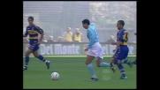Sinistro da dimenticare per Cesar in Lazio-Parma