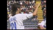 Sinistro di Solari, il suo goal permette all'Inter di pareggiare a Cagliari