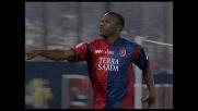 Sinistro di Suazo e Cagliari in vantaggio sulla Lazio