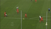 Sinistro improvviso di Galloppa, il palo salva Handanovic e Udinese