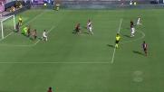 Sinistro insidioso di Falcinelli, il Crotone sfiora il goal a Cagliari