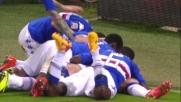 De Silvestri in contropiede realizza il goal del vantaggio sul Verona