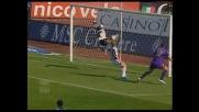 Vieri pareggia i conti per la Fiorentina con un goal di testa con l'Udinese