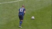 Sneijder ferisce la Lazio con un gran goal su punizione