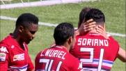 Soriano apre le marcature in Udinese-Sampdoria grazie a un goal di rapina