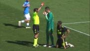 Souprayen commette fallo da rigore su Callejon: Verona in 10 al San Paolo