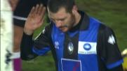 Giorgi viene espulso in Atalanta-Cagliari