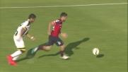 Aguirre sbaglia un controllo e regala palla al Cagliari