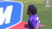Cuadrado da fuori area segna il goal del vantaggio Fiorentina