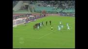 Stam fa tremare Dida su punizione: palo della Lazio!