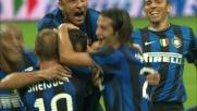 Stankovic annienta il Milan con il goal del 4-0 nel derby