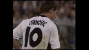Stankovic sfiora il goal dalla lunga distanza