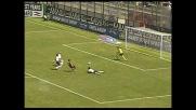 Sterzata sul sinistro e goal in diagonale di Cossu contro l'Inter