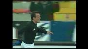 Stop e destro sotto la traversa: gran goal di Flachi con l'Udinese