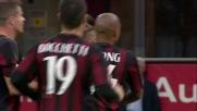 Stop e tiro: il goal di El Shaarawy apre le marcature in Milan-Torino