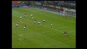 Storari respinge coi piedi la bordata di Seedorf in Milan-Messina