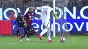Storari salva il Cagliari sul destro di Dzeko con una parata di piedi