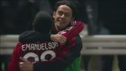 Strepitosa galoppata con goal per Emanuelson al Tardini