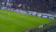 Strepitosa parata di Buffon sul tiro in acrobazia di Pazzini in Juventus-Verona