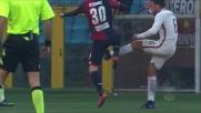Strootman rischia in area contro il Genoa