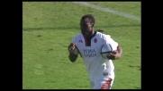 Suazo segna il goal della speranza per il Cagliari a Firenze
