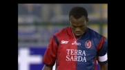 Suazo segna su rigore il goal che sblocca Cagliari-Messina
