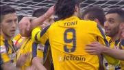 Sul corner di Marrone svetta Helander: è il goal del pareggio contro l'Inter
