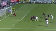 Sul tiro di Kucka Balzano salva d'istinto la porta del Cagliari
