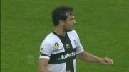 Sull'errore dell'Hellas Verona Parolo realizza un gran goal dal limite dell'area
