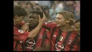 Super azione Seedorf-Kakà che si conclude col goal dell'olandese