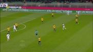 Super parata di Gollini su Palacio in Verona-Inter