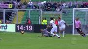Suso castiga l'errore di Posavec e porta in vantaggio il Milan