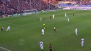 Suso è sfortunato: la sua conclusione mancina si stampa sul palo della Fiorentina