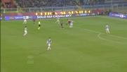 Il tiro di Bertolacci sbatte sul petto di Buffon!