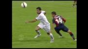 Pallonetto e dribbling per Fiore contro il Cagliari