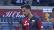 Szczesny con una parata plastica nega il goal a Suso nel match Genoa-Roma