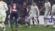 Szczesny si supera sul tiro di Ocampos