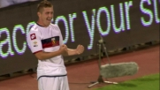 Il goal di Kucka sigla il vantaggio del Genoa contro il Catania