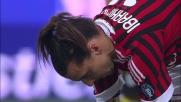 Goal dal dischetto senza problemi per Ibrahimovic contro il Parma