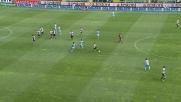Marchionni, dribbling di forza contro la Lazio