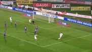 Boruc nega il goal a Emanuelson con una parata in uscita